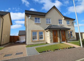 Thumbnail 3 bed semi-detached house for sale in Canberra Crescent, Kirkcaldy
