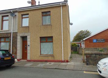 Thumbnail 3 bed end terrace house to rent in Old Castle Road, Llanelli
