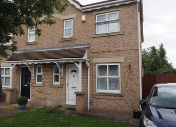 Thumbnail 3 bedroom semi-detached house to rent in Bridgegate Drive, Victoria Dock, Hull