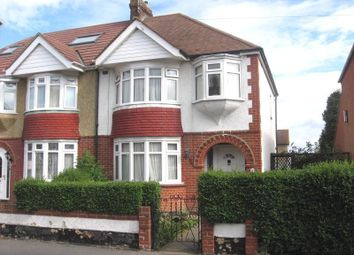 Thumbnail 3 bed semi-detached house to rent in Wallace Road, Rochester