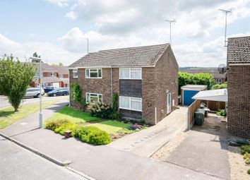 Thumbnail 2 bed semi-detached house for sale in Christian Close, Harlington, Dunstable