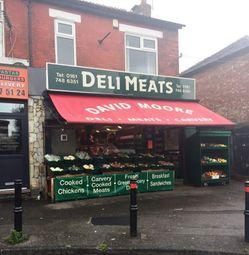 Thumbnail Retail premises for sale in Urmston M41, UK