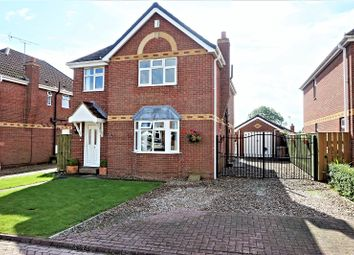 Thumbnail 4 bed detached house for sale in Birchwood Close, Burstwick, Hull