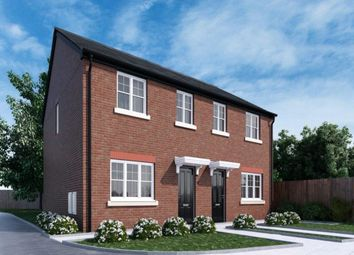 Thumbnail 3 bed semi-detached house for sale in Riverside Pastures, Stakepool, Preston