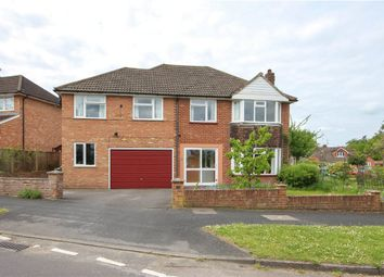 Thumbnail 5 bed detached house for sale in Ferndale Road, Church Crookham, Fleet