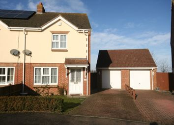 Thumbnail 2 bed semi-detached house to rent in Strawberry Fields Drive, Holbeach St Marks