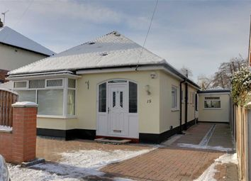 Thumbnail 3 bed detached bungalow for sale in Brookland Avenue, Wistaston, Crewe