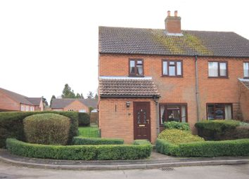 Thumbnail 3 bed semi-detached house for sale in Olivia Close, Fakenham