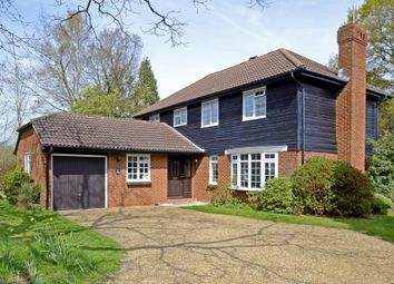 Thumbnail 4 bed detached house to rent in Burleigh Park, Cobham