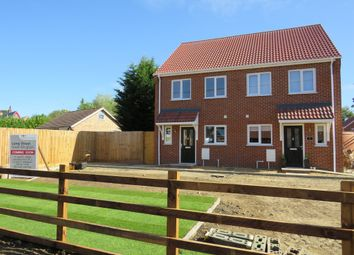 Thumbnail 2 bed semi-detached house for sale in Long Street, Great Ellingham, Attleborough