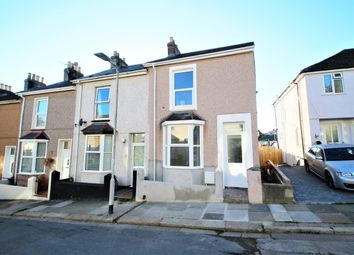 Thumbnail 2 bed end terrace house to rent in Hanover Road, Plymouth