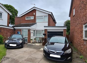 Thumbnail 3 bed detached house for sale in Welshpool Close, Manchester
