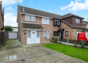 Thumbnail 3 bed detached house for sale in Woodside Avenue, Benfleet