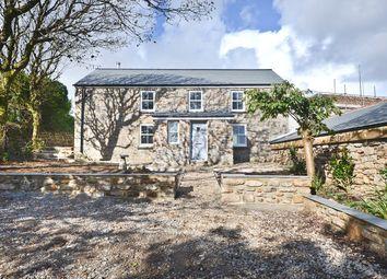 Thumbnail 4 bed semi-detached house for sale in Great Bosullow Farmhouse, Newbridge