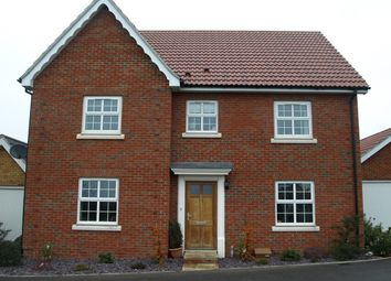 Thumbnail 4 bed detached house to rent in Lapwing Grove, Stowmarket