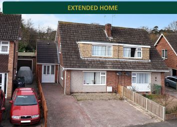Thumbnail 3 bed semi-detached house for sale in Kent Crescent, South Wigston, Leicester
