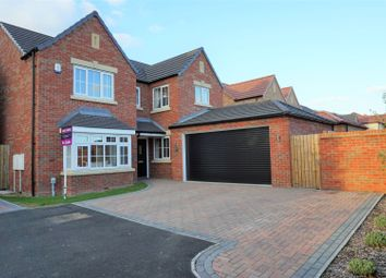 Thumbnail 4 bed detached house for sale in Wentworth Close, Brough