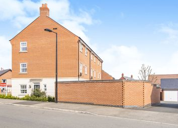 Thumbnail 4 bed town house for sale in Long Meadow Way, Birstall, Leicester
