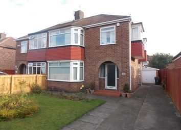 Thumbnail 3 bed semi-detached house for sale in Lunedale Avenue, Middlesbrough
