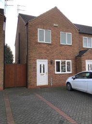 Thumbnail 3 bed semi-detached house to rent in Moors Road, Scunthorpe