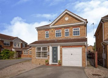 Thumbnail 3 bed detached house for sale in Kenilworth Close, Saxilby, Lincoln