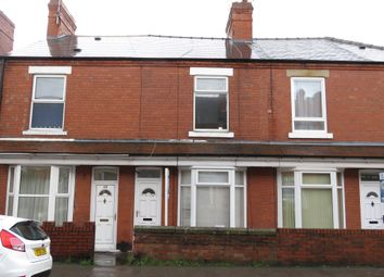 Thumbnail 2 bed terraced house for sale in Central Avenue, Worksop