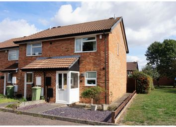 Thumbnail 2 bed end terrace house for sale in Burgess Gardens, Newport Pagnell