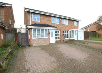 Thumbnail 3 bed semi-detached house for sale in Ashdown Close, Binley, Coventry