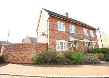 Thumbnail 2 bed terraced house to rent in Crouch Gardens, Bedford