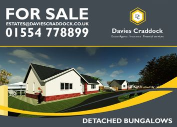 Thumbnail 2 bed bungalow for sale in Heol Y Meinciau, Pontyates, Carmarthenshire