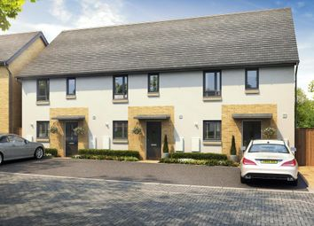 "Thumbnail 3 bed semi-detached house for sale in ""Barwick"" at Poplar Close, Plympton, Plymouth"