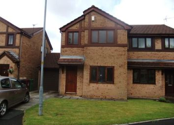 Thumbnail 3 bedroom semi-detached house to rent in Spinning Meadow, Bolton