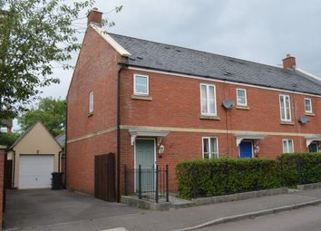 Thumbnail 3 bed semi-detached house to rent in Elgar Close, Swindon
