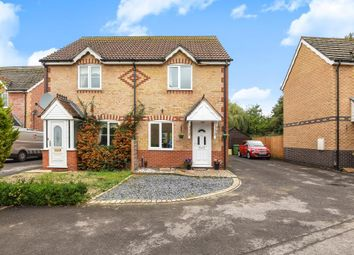 Thumbnail 2 bed semi-detached house for sale in Glebelands, Thatcham