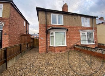 Thumbnail 3 bed semi-detached house for sale in The Leas, Darlington