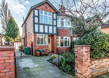 Thumbnail 4 bed semi-detached house for sale in Sandhurst Avenue, West Didsbury, Manchester
