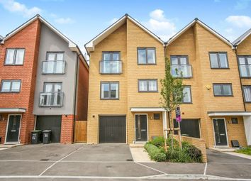 Thumbnail 4 bed semi-detached house for sale in Thackeray Drive, Gravesend
