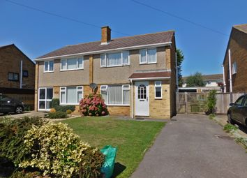 Thumbnail 3 bed semi-detached house to rent in Carisbrooke Avenue, Hill Head, Fareham