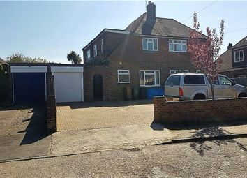 Thumbnail 3 bed semi-detached house for sale in Kings Avenue, Tongham, Farnham