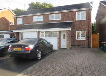 Thumbnail 3 bed semi-detached house for sale in Christchurch Road, Hucknall, Nottingham