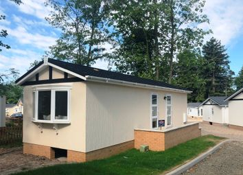 Thumbnail 1 bed mobile/park home for sale in Warrington Road Bartington, Cheshire