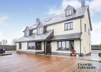 Thumbnail 4 bed detached house for sale in Bryngwyn, Ceredigion