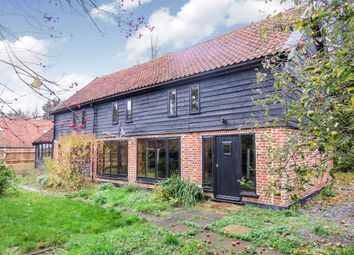 Thumbnail 4 bed barn conversion for sale in Common Road, Tacolneston, Norwich