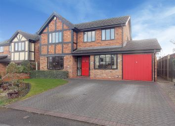 Thumbnail 4 bed detached house for sale in Cooks Drive, Castle Donington, Derby