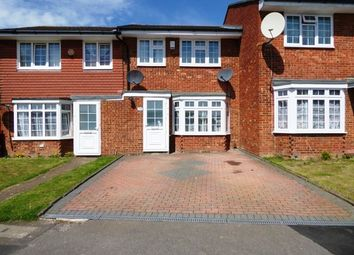 Thumbnail 3 bedroom terraced house for sale in Chantry Road, Chessington