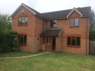Thumbnail 4 bed detached house to rent in The Oval, Oldbrook, Oldbrook, Milton Keynes, Buckinghamshire