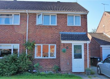 Thumbnail 3 bed semi-detached house for sale in Leslie Close, Swindon