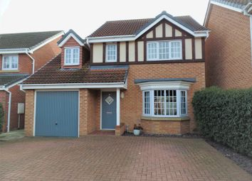 Thumbnail 4 bed detached house to rent in Augustus Close, North Hykeham, Lincoln