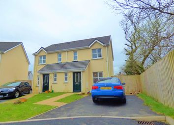 Thumbnail 2 bed semi-detached house to rent in Clos Griffith Jones, St Clears, Carmarthenshire