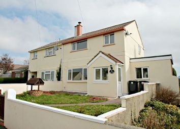 Thumbnail 3 bed semi-detached house to rent in Grenville Avenue, Torquay